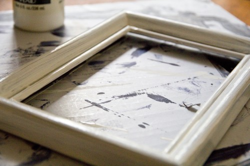 DIY: Upcycled Picture Frame to Dry Erase Board | Tiffany Lane